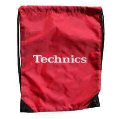 Technics Wax Sac  - Classic Red with White Logo