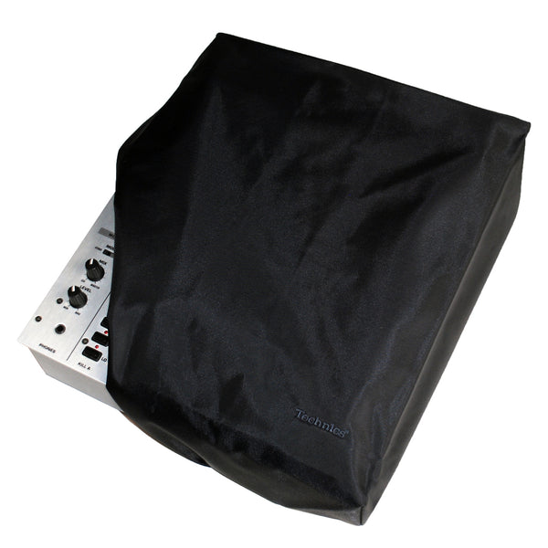 DMC Technics Universal Mixer Cover / CD Player  - Black with BLACK embroidery - NEW IN