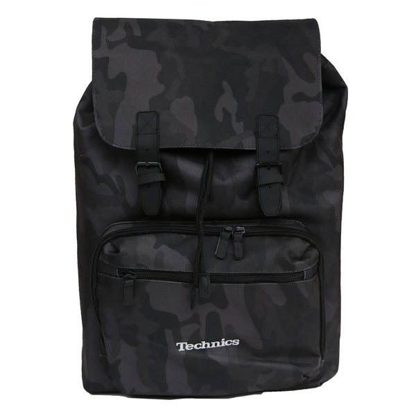 Technics Vinyl / Laptop Rucksack (Midnight Camo)