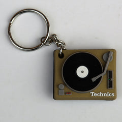 Technics Gold Deck Keyring - NEW
