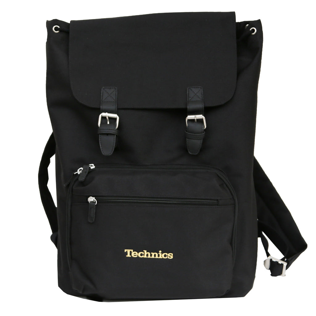 Check Out Technics Vinyl / Laptop Rucksack (Gold embroidery) On The DMC Store