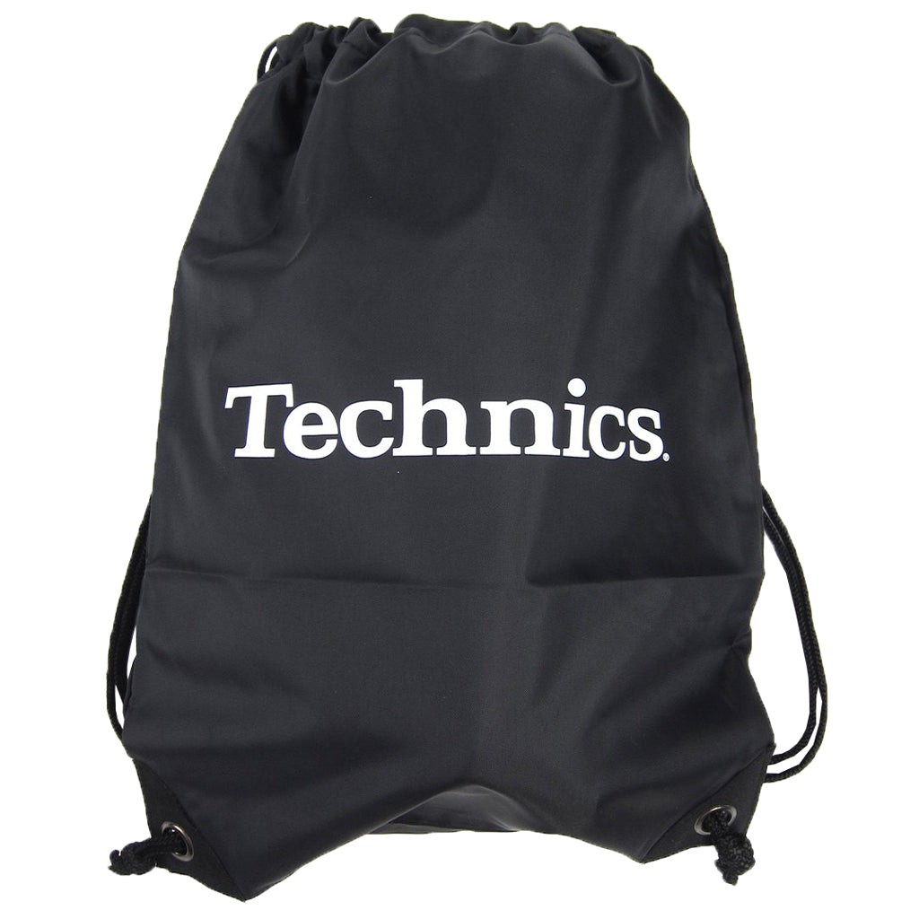 Technics Wax Sac  - Black with White Logo