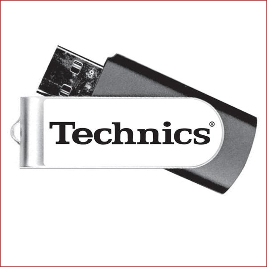 Check Out Technics branded USB Flash Drive 16 GB On The DMC Store
