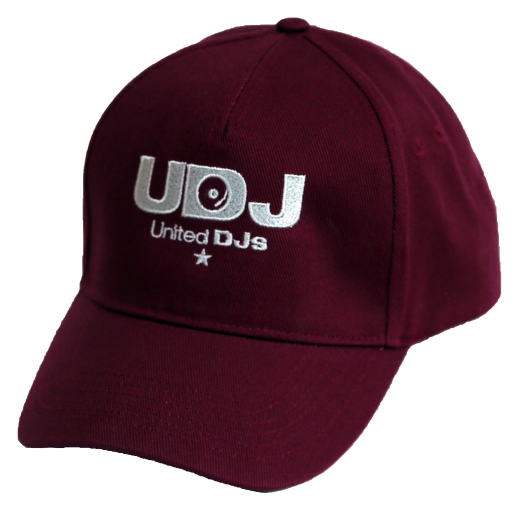 United DJ Baseball Cap - burgundy