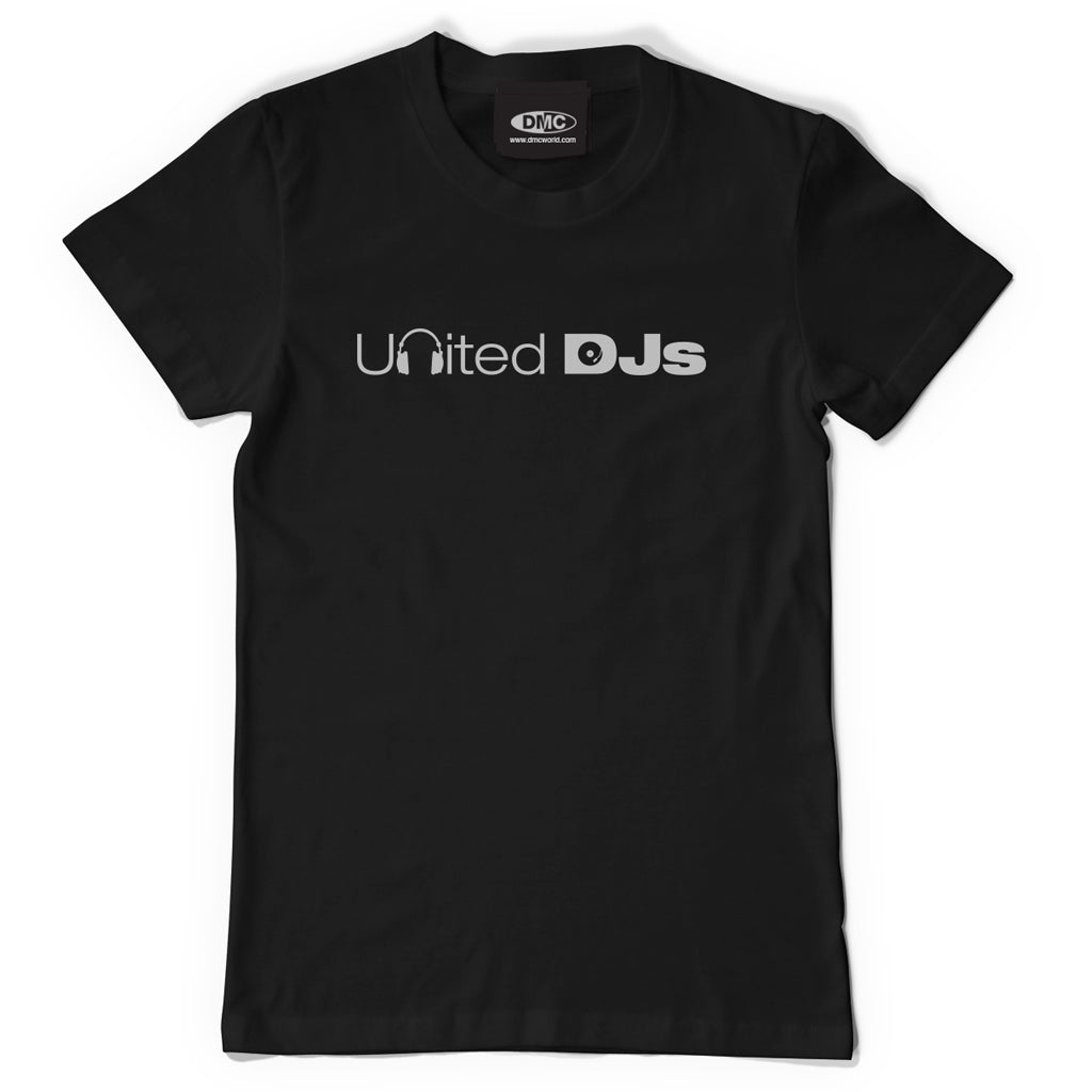 United DJs - Black T Shirt - Men