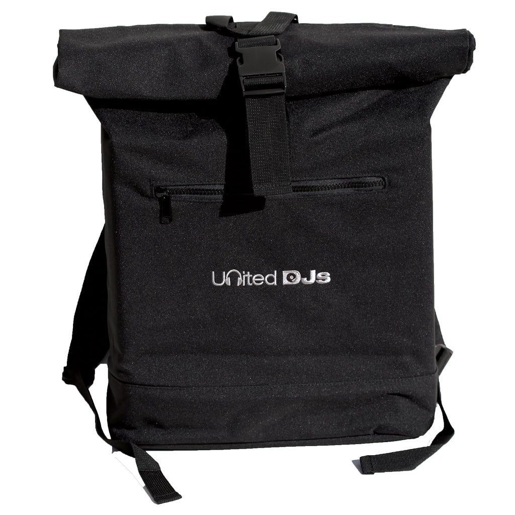 United DJs Roll Top Backpack  (vinyl/laptop)
