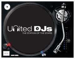 United DJs Slipmat (pair)