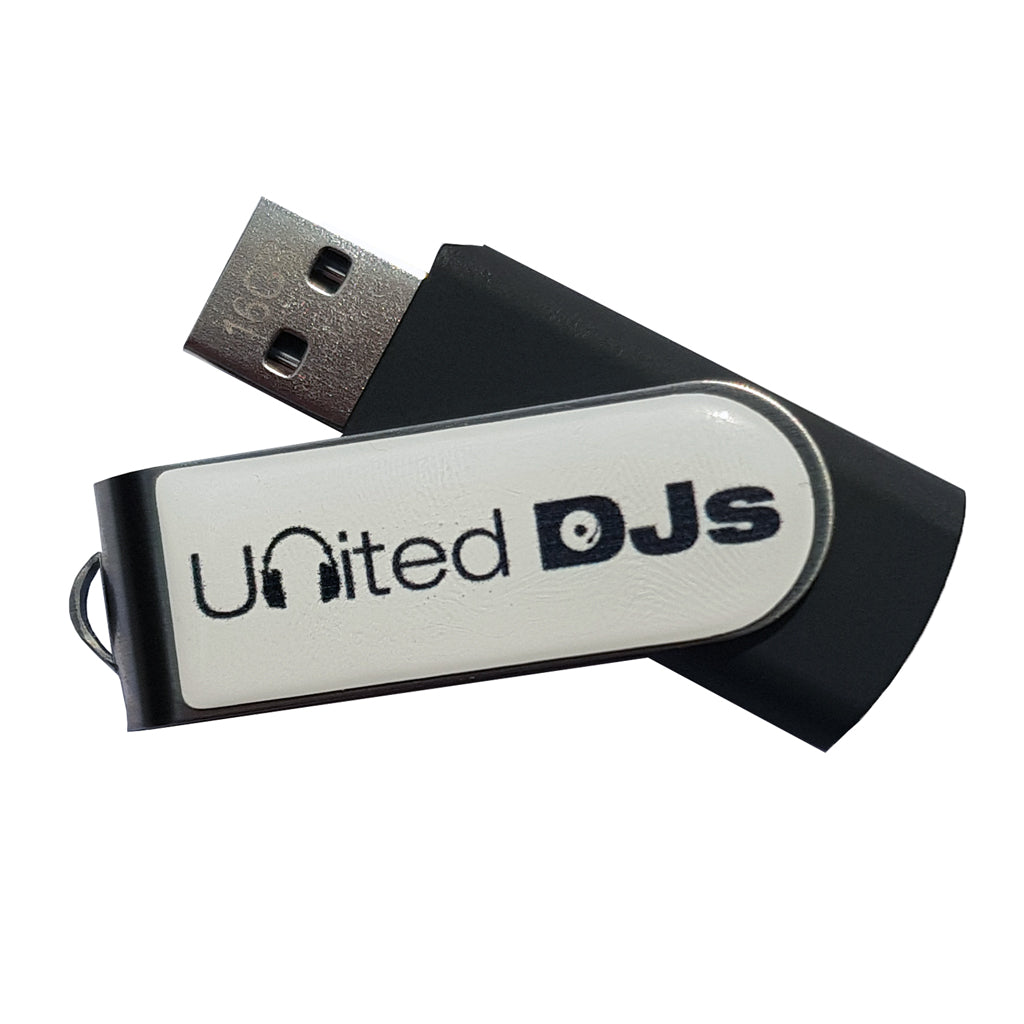 United DJs USB Flash Drive 16GB