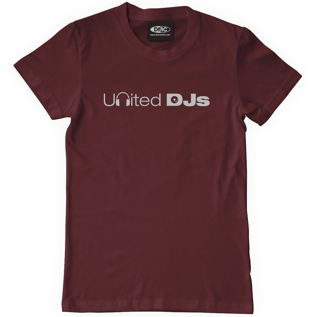 United DJs - Maroon T Shirt - Men