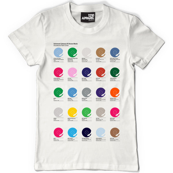 Universal Colours of House t-shirt