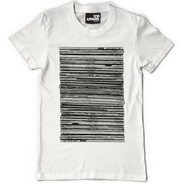 Vinyl Junkie T. Shirt - available in navy, white or black