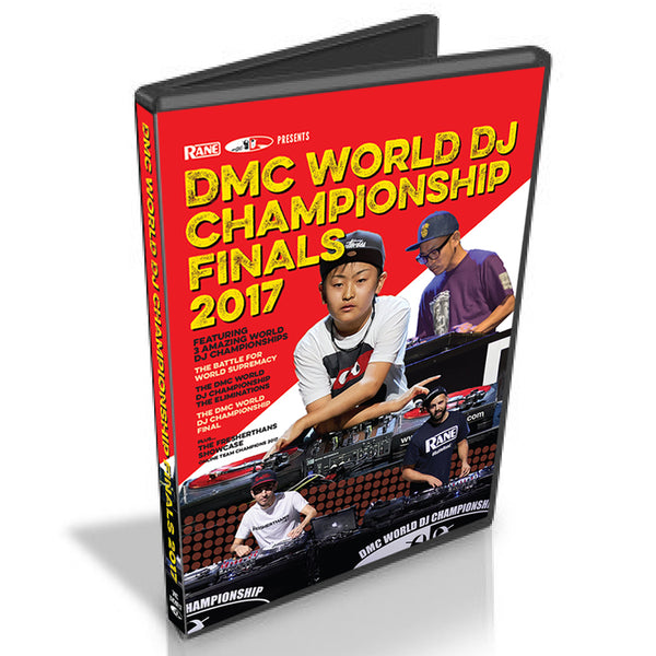 DMC 2017 WORLD DJ CHAMPIONSHIPS DVD Featuring : DMC WORLD DJ FINAL / WORLD ELIMINATIONS / BATTLE FOR WORLD SUPREMACY