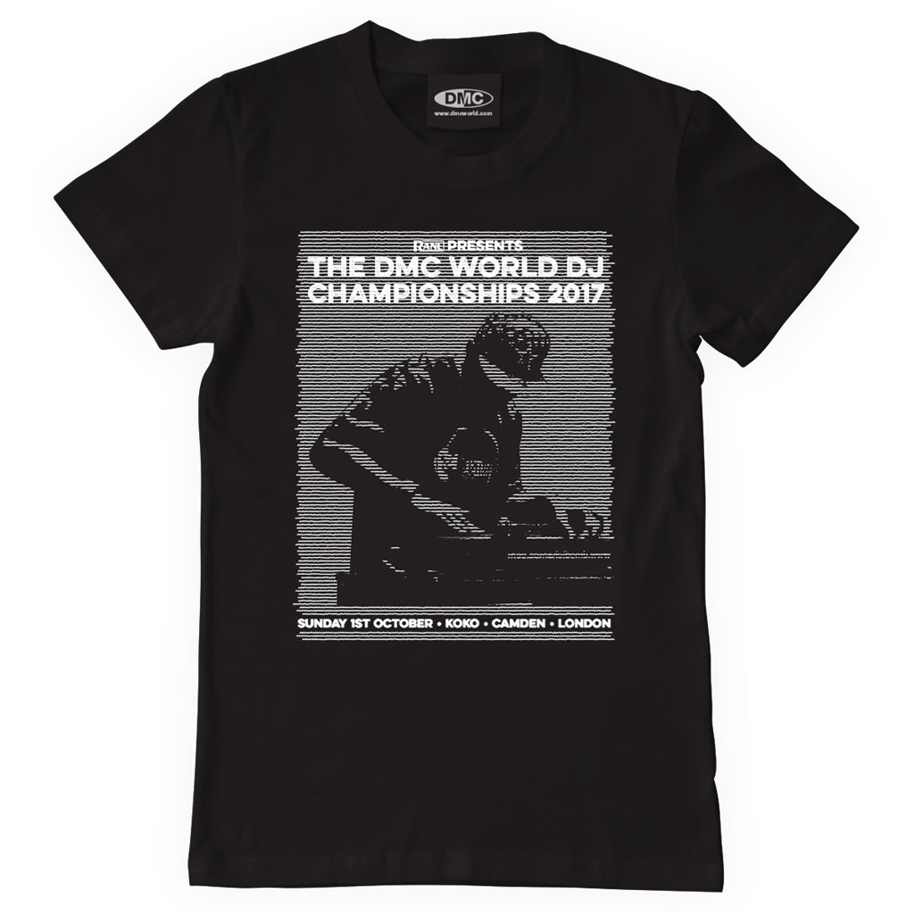 DMC WORLD DJ CHAMPIONSHIPS 2017 – The Official T-shirt