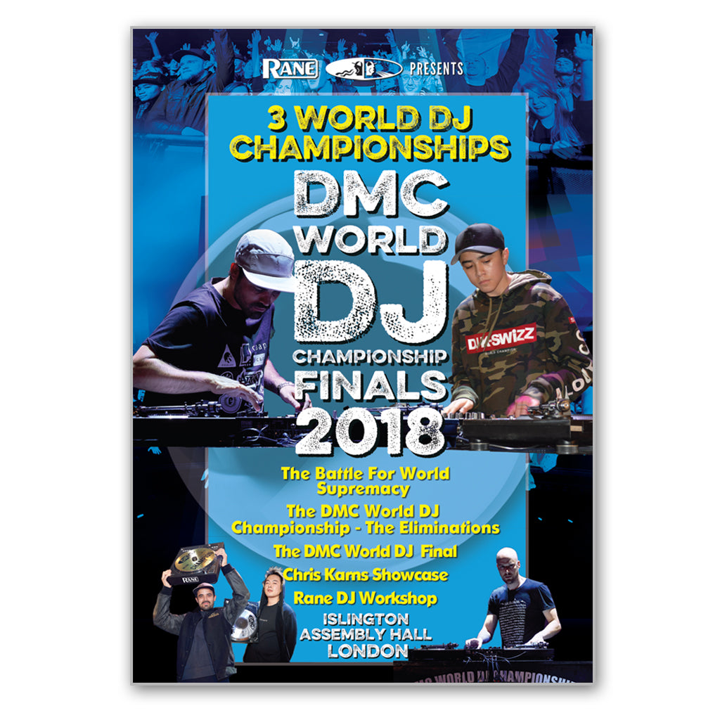 DMC World DJ Championship Finals 2018 DVD