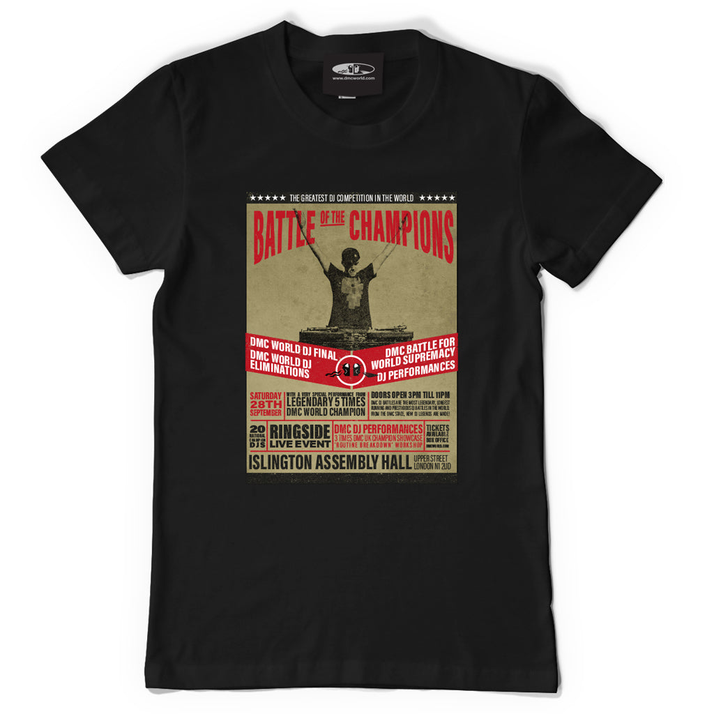 Check Out DMC Battle of the Champions T-shirt On The DMC Store