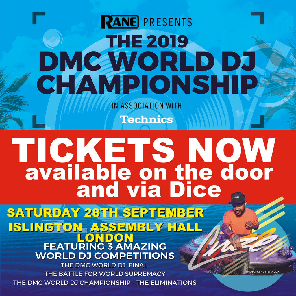 DMC World Final Ticket 2019 - Saturday 28th September - London - Event Over