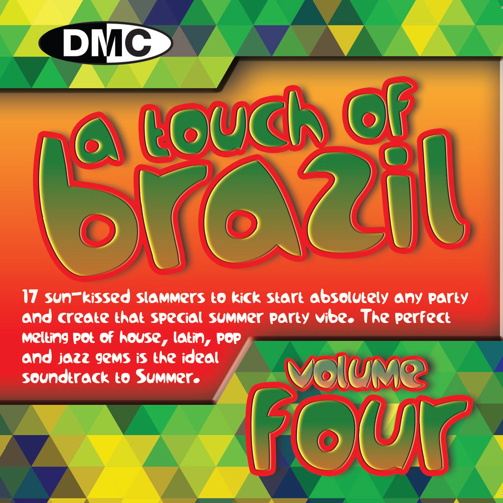 DMC - A Touch of Brazil Vol 4 - New Release