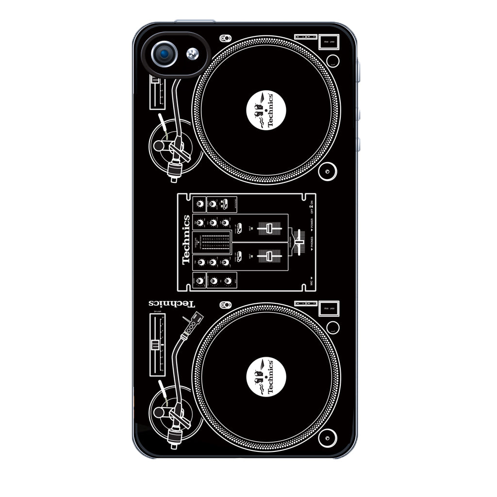 DMC/Technics Classic Turntables iphone 4/4S Cover