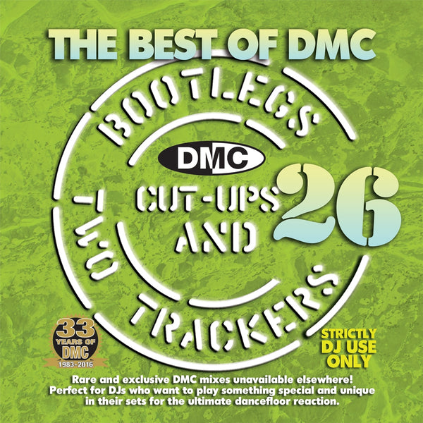 The Best Of DMC Bootlegs, Cut Ups & 2 Trackers Vol. 26 - Rare & exclusive mixes unavailable elsewhere. Perfect for DJs who want to play something special and unique in their sets for the ultimate dancefloor reaction. New release