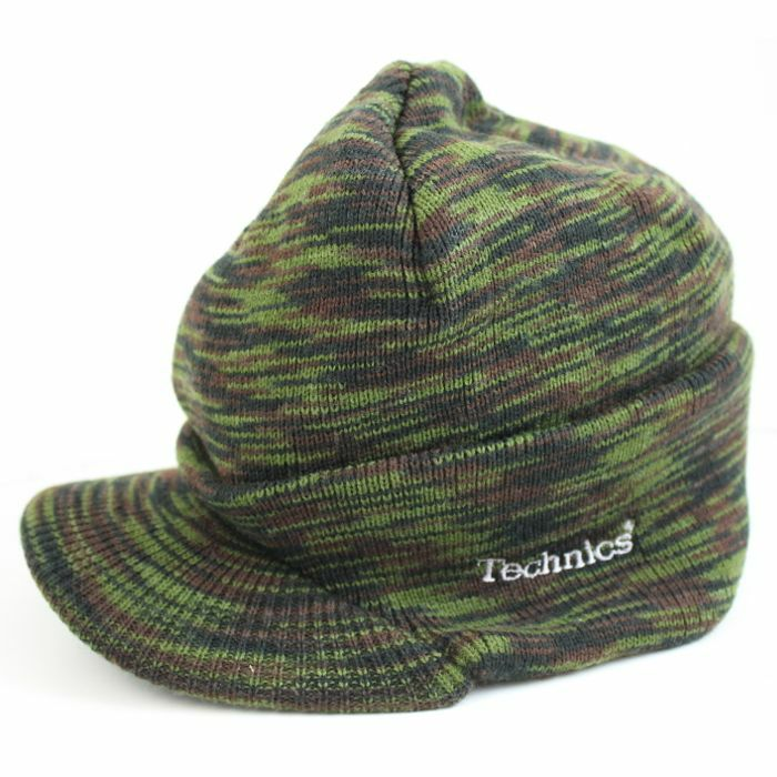 Technics Knitted Army Hat