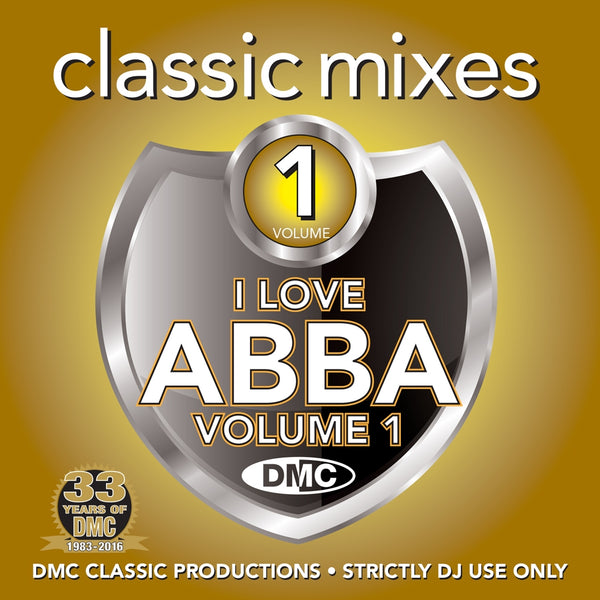 DMC Classic Mixes - I LOVE ABBA - New release
