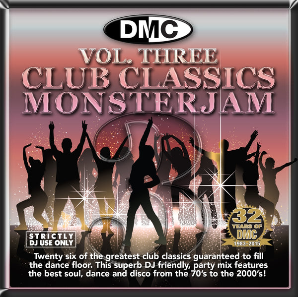 DMC Club Classics Monsterjam Vol 3 - New Release