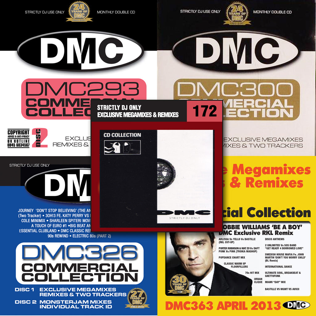 DMC Commercial Collection Offer 32 - Five Commercial Collection Issues