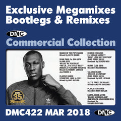 DMC COMMERCIAL COLLECTION 422  (Triple Disc Edition) - March 2018