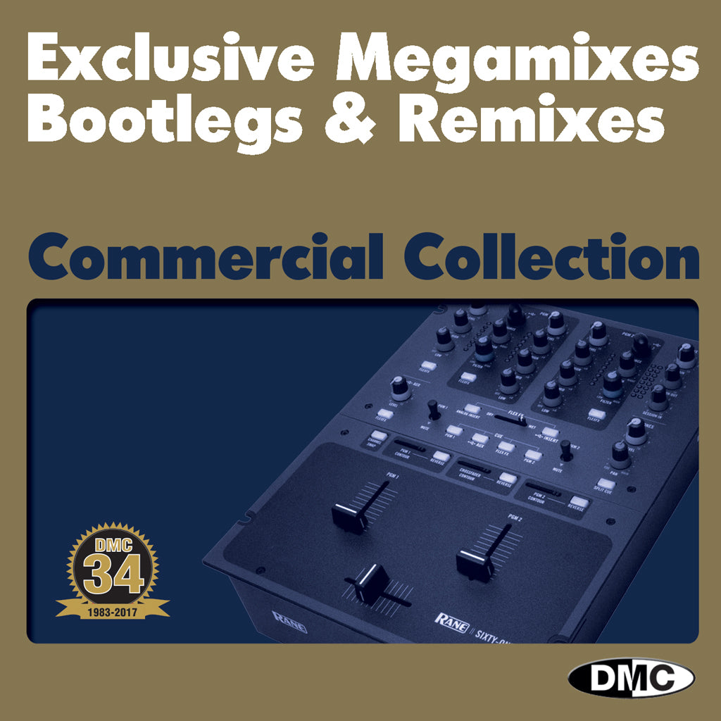 DMC DJ SUBSCRIPTION - 3 MONTHS - COMMERCIAL COLLECTION (double CD) -  UK ONLY - Only 1 postage payment, 2 months FREE - Exclusive Megamixes, Bootlegs & Remixes for DJs