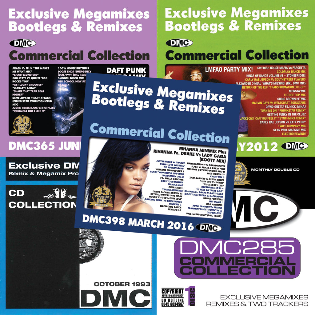 DMC Commercial Collection Offer 51 (DMC 398/365/352/285/129)