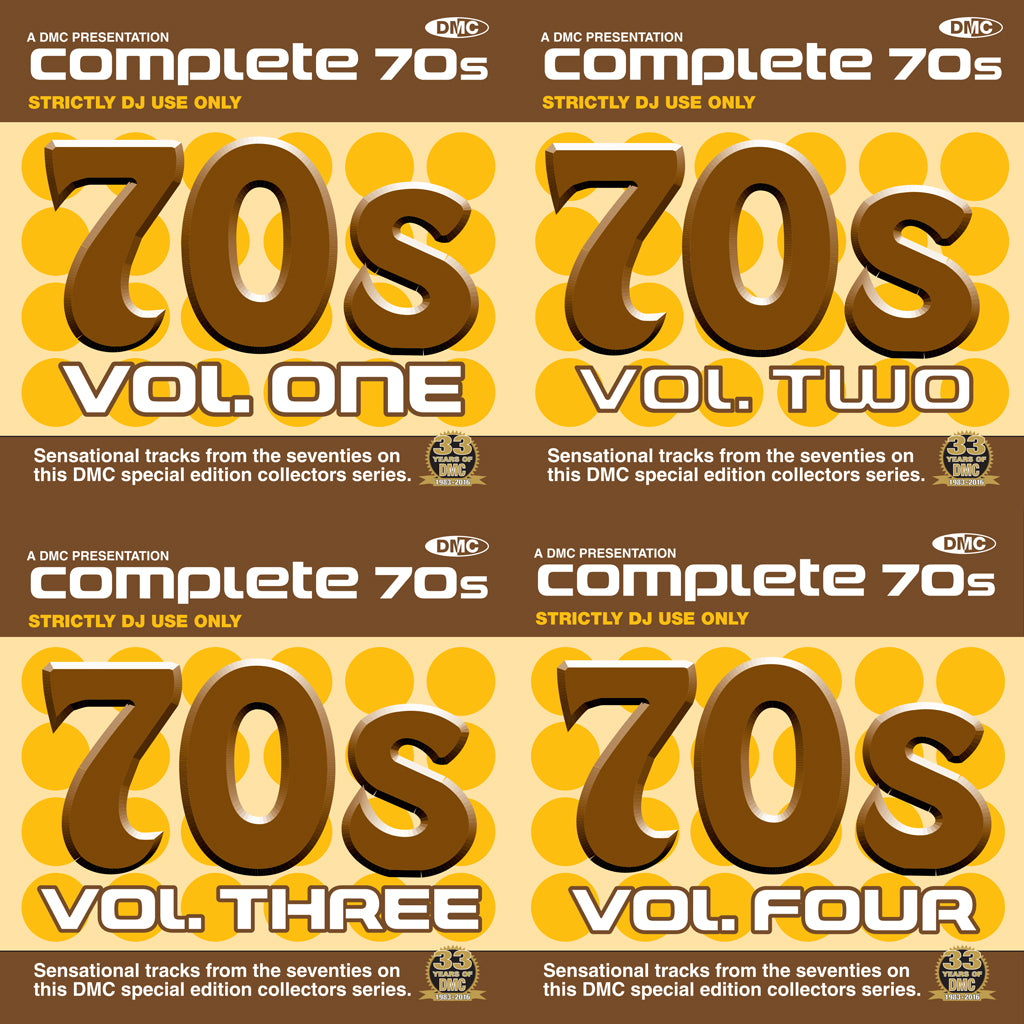Complete 70s Vol.1-4   Re-mastered with additional tracks.