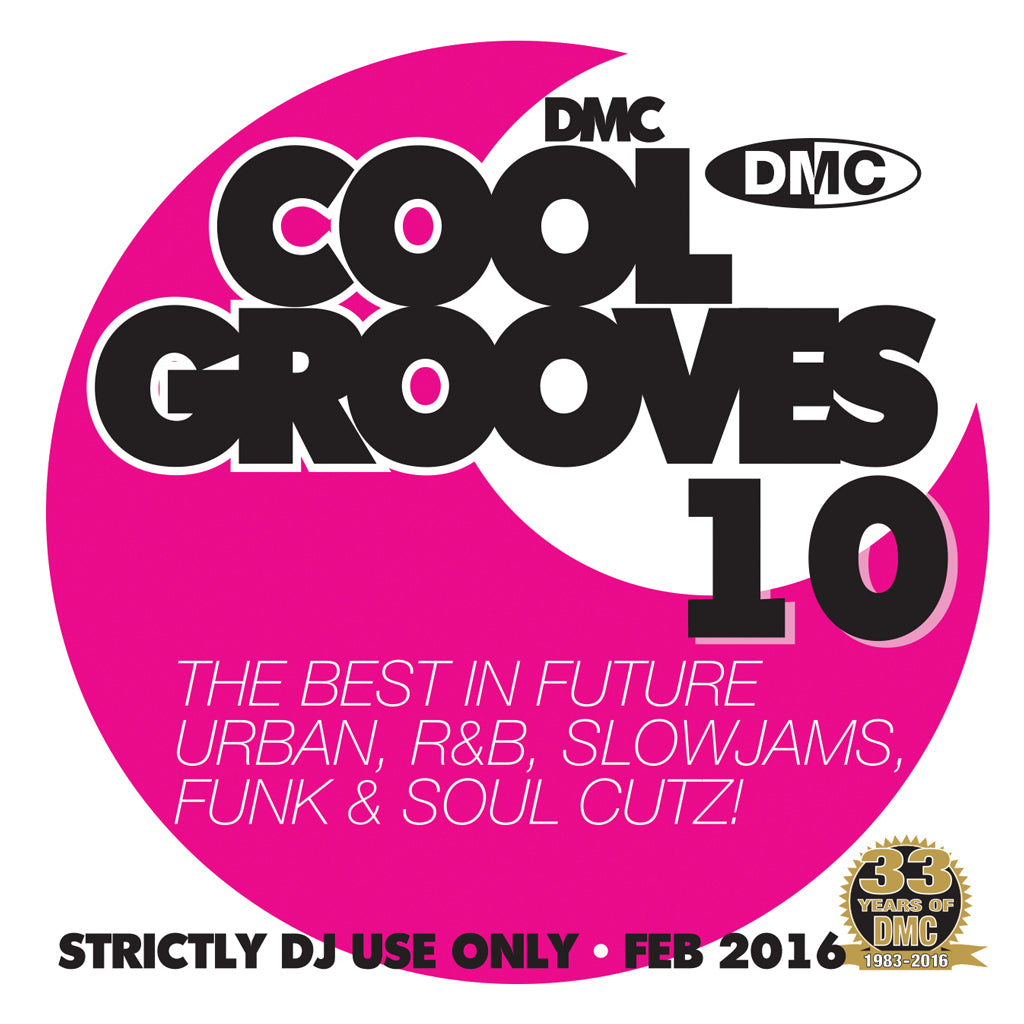 DMC COOL GROOVES 10 - Mid February 2016 release