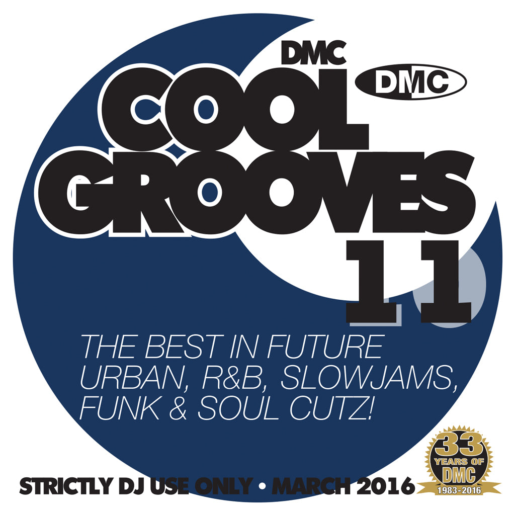 DMC COOL GROOVES 11 - Mid March 2016 release