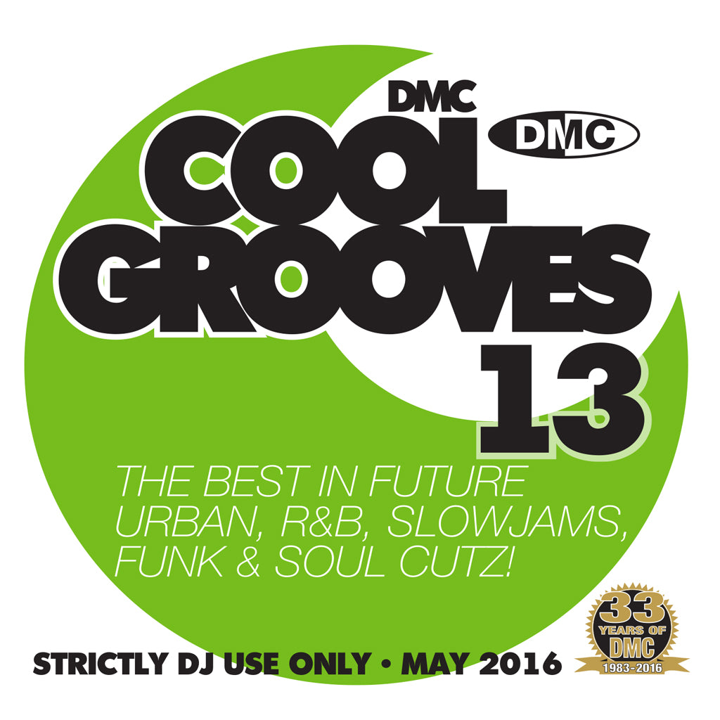 DMC COOL GROOVES 13 - MID MAY Release