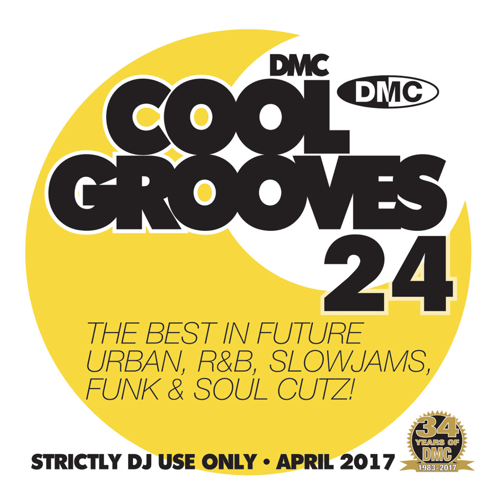 DMC COOL GROOVES 24 - Mid April 2017 Release