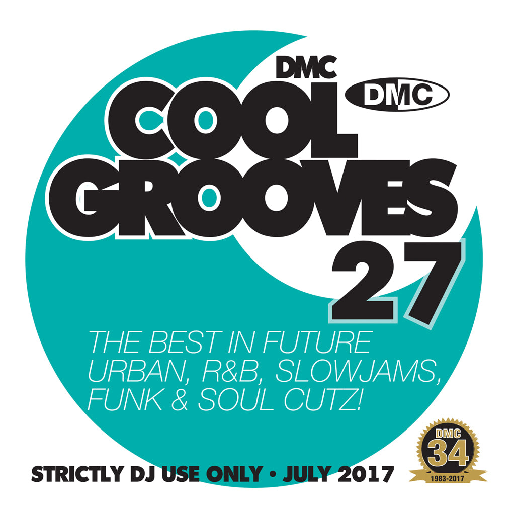 DMC COOL GROOVES 27 - Mid July 2017 Release