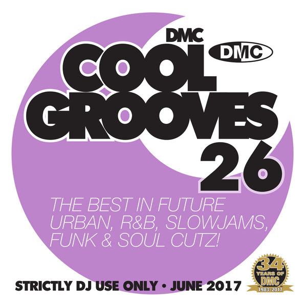 DMC COOL GROOVES 26 - Mid June 2017 Release