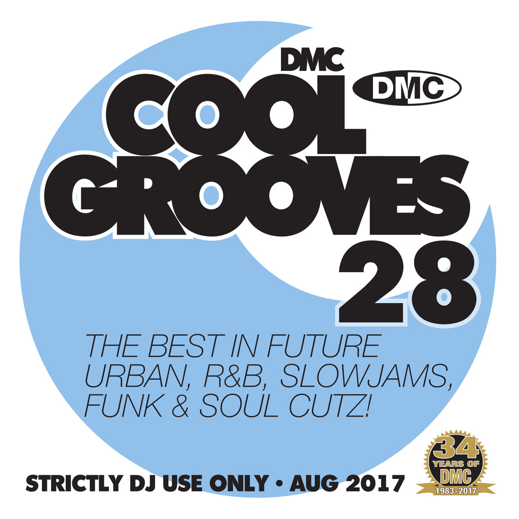 DMC COOL GROOVES 28 - Mid August 2017 Release