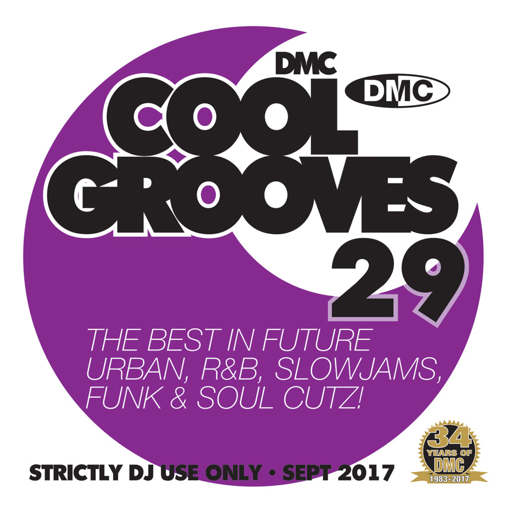 DMC COOL GROOVES 29 - Mid September 2017 Release