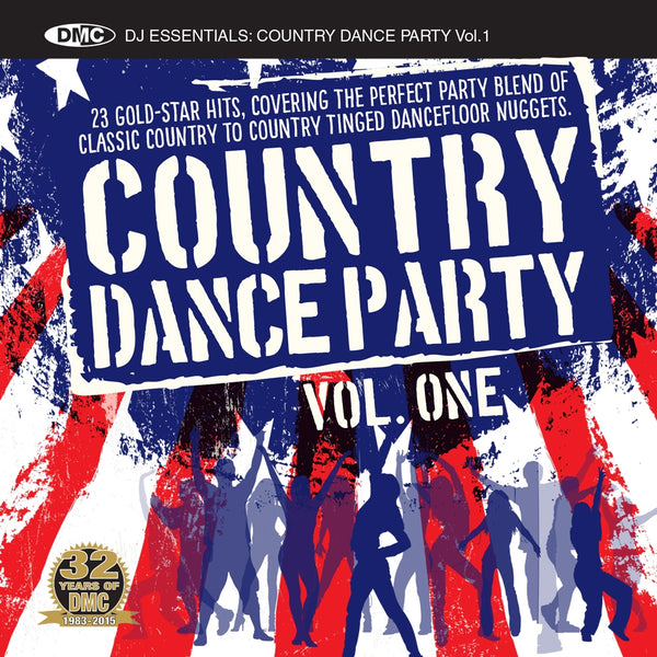 DMC Country Dance Party CD - New Release