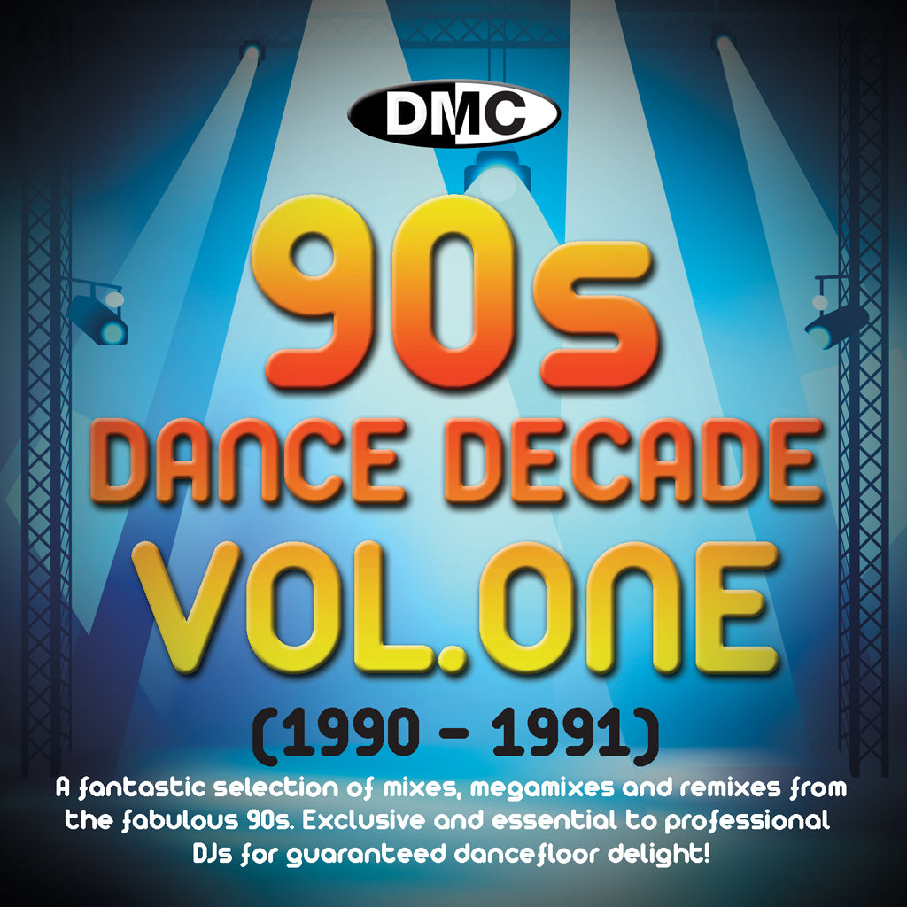 DMC Dance Decades - The 90s - Volume 1