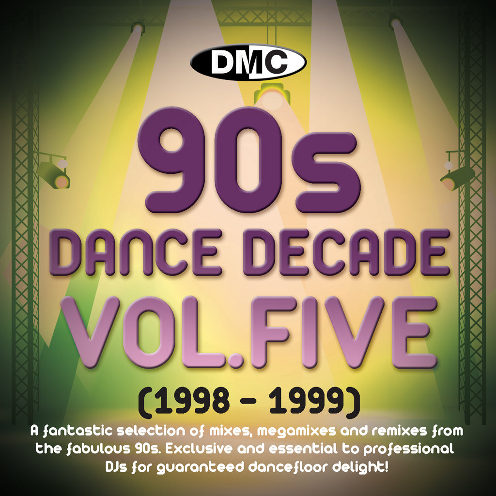 DMC Dance Decades - The 90s - Volume 5