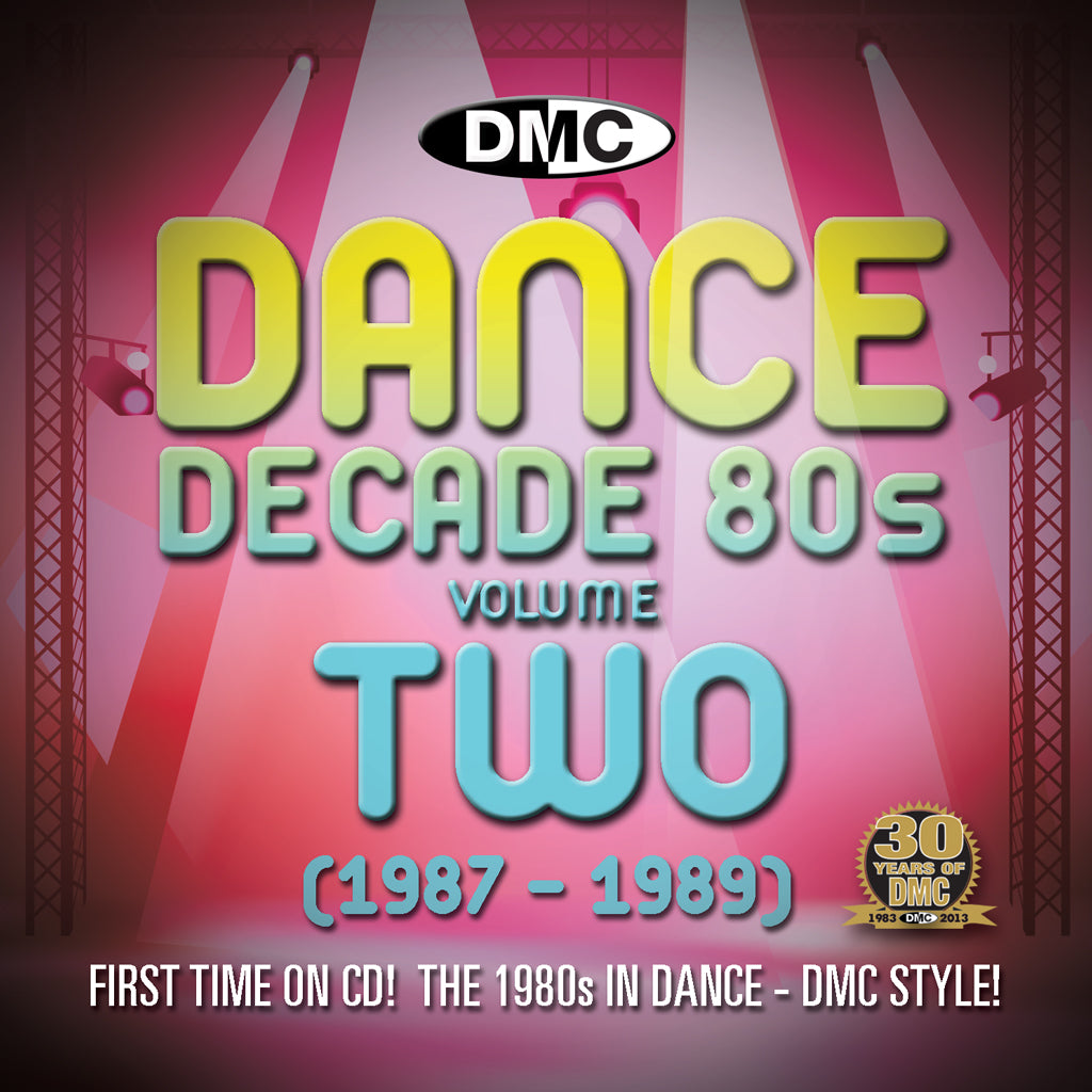 DMC Dance Decade 80s Volume 2 - New Release