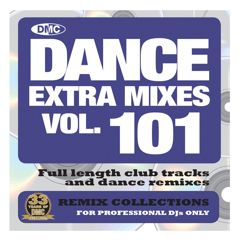 DMC DANCE EXTRA MIXES 101 - MID MAY Release