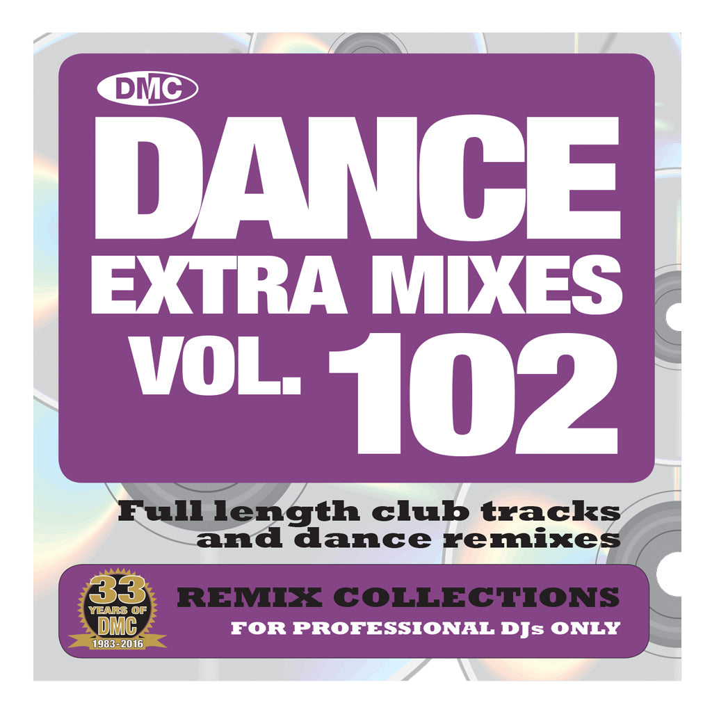 DMC DANCE EXTRA MIXES 102 - Mid June Release