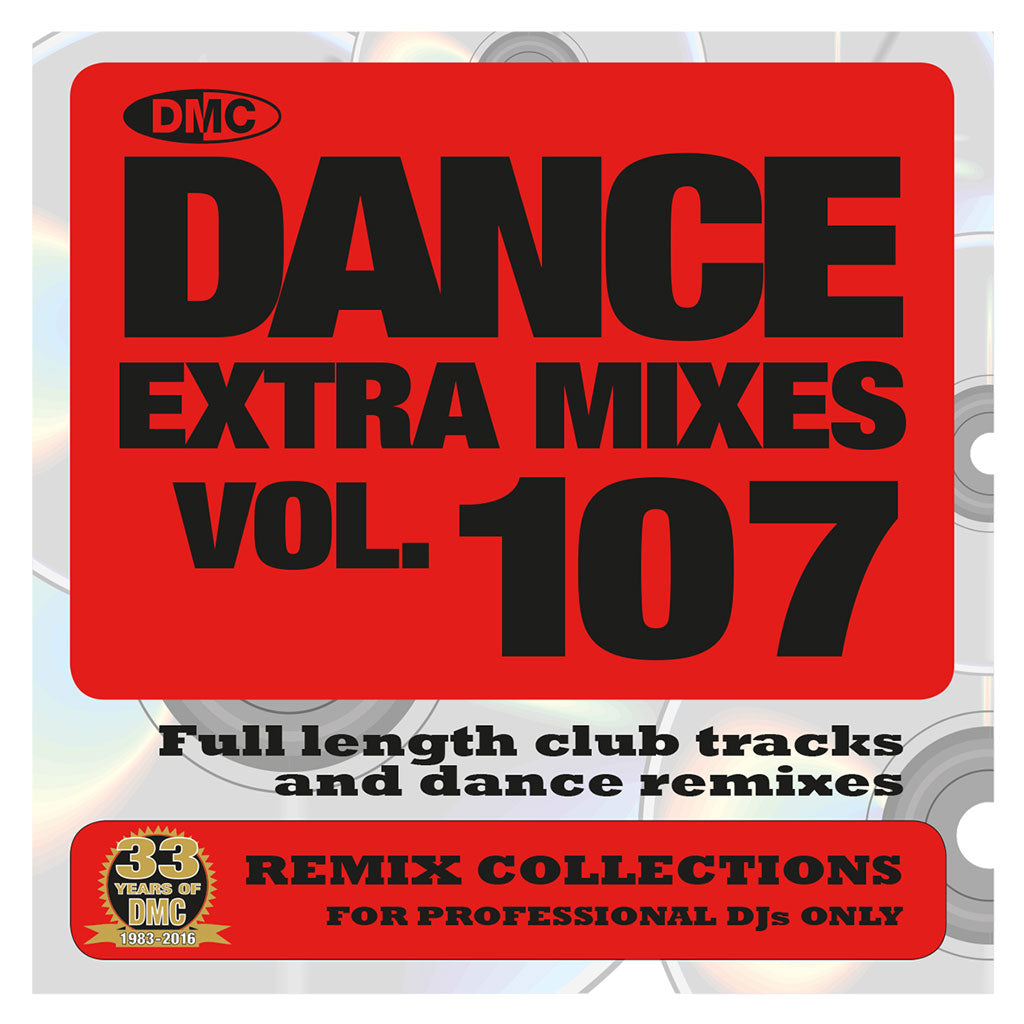 DMC DANCE EXTRA MIXES 107 -  Mid October Release