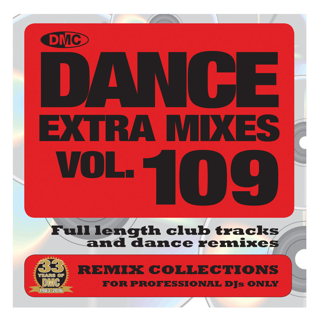 DMC DANCE EXTRA MIXES 109 -  Mid December 2016 Release