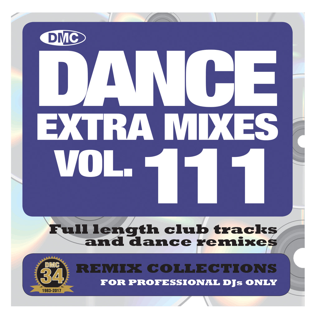 DMC DANCE EXTRA MIXES 111 -  Mid February 2017 Release