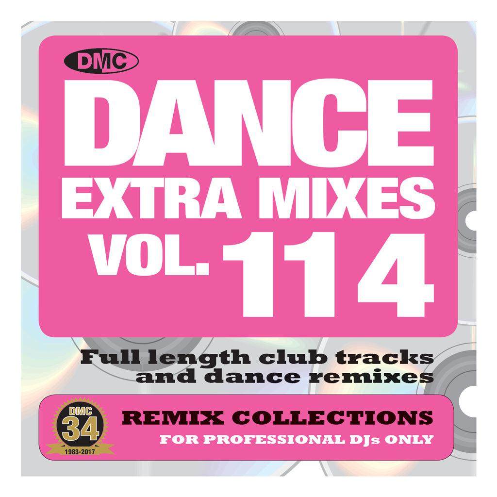 DMC DANCE EXTRA MIXES 114 -  Mid May 2017 Release