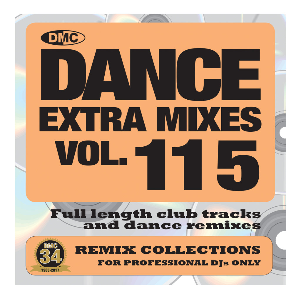 DMC DANCE EXTRA MIXES 115 -  Mid June 2017 Release